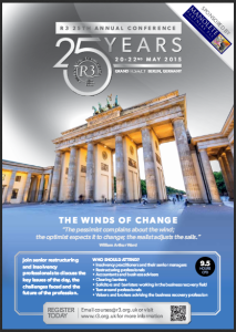 R3 Conference 2015 - The Winds of Change